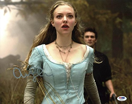 Amanda Seyfried Red Riding Hood Autographed Authentic 11x14 Photo - PSA/DNA - Amanda Seyfried Red