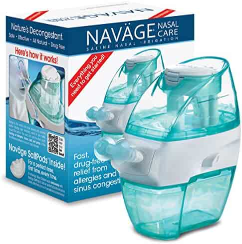 Navage Nasal Irrigation Basic Bundle: Navage Nose Cleaner and 18 SaltPods. $99.90 if purchased separately; you save $9.95 (10%)