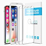 iPhone X Screen Protector, Tethys iPhone X Tempered Glass Screen Protector