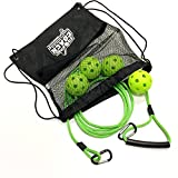 Rope Coach - Baseball Swing Trainer with Drawstring Backpack Bag