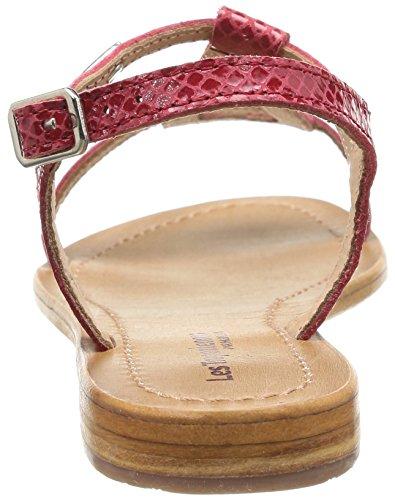 Hamat - Sandalias de vestir de cuero para mujer Rojo Rouge (Rouge/Serpent) 41 Les Tropeziennes 3juM3ZaV