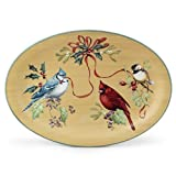 Lenox Winter Greetings Everyday Large Oval Platter