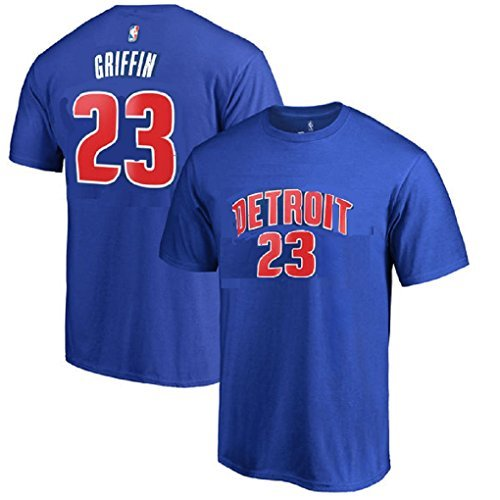 (Outerstuff Blake Griffin Detroit Pistons #23 NBA Youth Player T-Shirt (Youth Large 14/16))