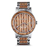 Original Grain Brewmaster - 47MM German Oak Wood and Brushed Stainless Steel Men's Watch Reviews