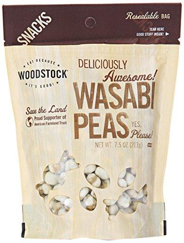 Woodstock Wasabi Peas, 7.5 Oz
