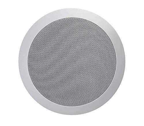 TIC C7V8 Ceiling Speaker in Wall 8″ Set of 1 70V Water-Resistant Speakers Perfect for Damp and Humid Indoor/Outdoor Placement – Bath, Kitchen, Covered Porches
