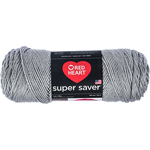 Red Heart Cotton Yarn (RED HEART Super Saver Yarn, Dusty Grey)