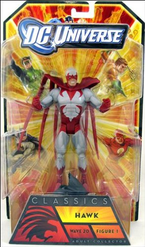 DC Universe Classics Hawk Collectible Figure - Wave 20