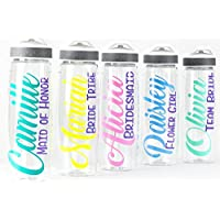 Bridesmaid Gift - Personalized Water Bottle