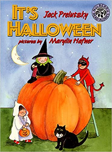 amazoncom its halloween 9780688147334 jack prelutsky marylin hafner books