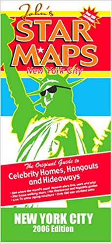 John S New York Star Maps Celebrity Homes Hangouts And Hideaways