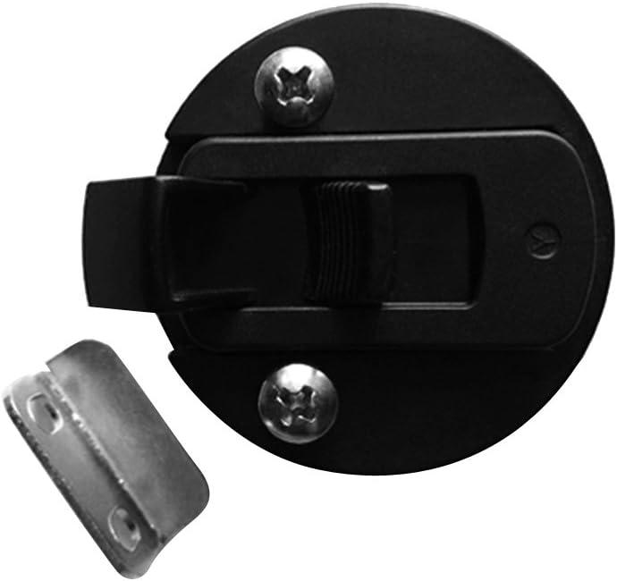 Dovewill Nylon Slam Latch Hatch Round Pull Latch 1//2 Door for RV Marine Boat 2-12mm