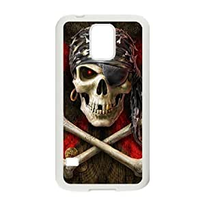 Skull Design Samsung Galaxy S5 Case White Yearinspace109399