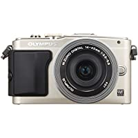 Olympus Mirrorless SLR E-PL6 with 14-42mm F3.5-5.6 EZ Lens (Silver) - International Version