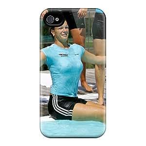 Pretty SuhrnQp5640LvndA Iphone 4/4s Case Cover/ Maria Riesch Pool Series High Quality Case