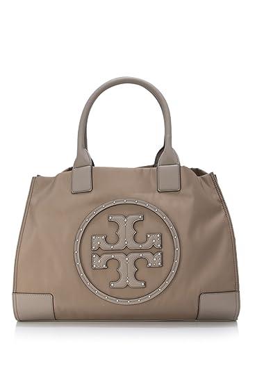 1c6c2a6ec8b Buy Tory Burch Ella Stud Tote Bag, Grey, 39790-036 Online at Low ...