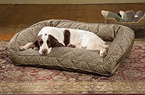 Amazon.com : Orvis Deep Dish Dog Bed With Quilted Sleep