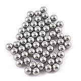 TOOGOO(R) 60 Pcs 4mm Dia Bicycle Steel Bearing Ball Replacement