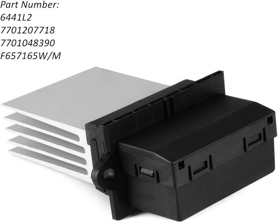 Ventilateur de Moteur de Remplacement Compatible avec Peugeot 107 207 607 Citroen C2 C3 C5 Renault Scenic Megane Twingo 6441L2 7701207718 7701048390