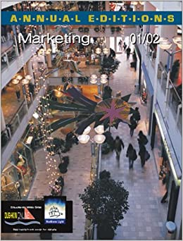 Book Annual Editions: Marketing 01/02