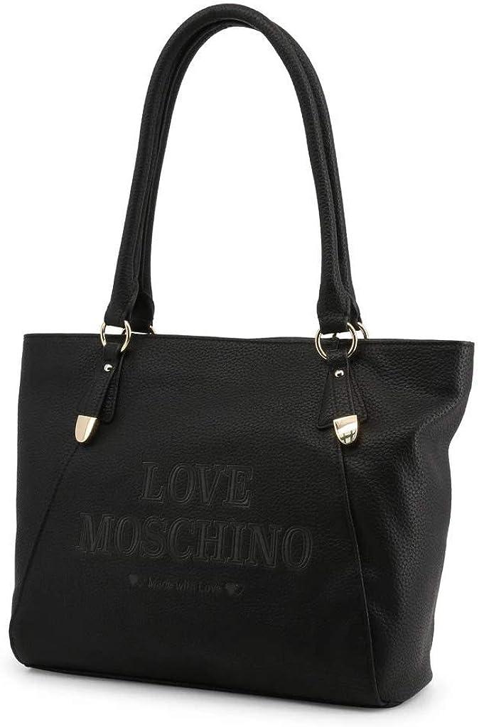 Love Moschino Borsa donna a mano o spalla articolo JC4285PP08KN BORSA PU - cm.40x27x12 0000 Nero