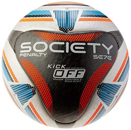 Bola Society Se7e R1 KO IX Penalty 69 cm Branco