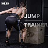 sportbit Jump Trainer Leg Strength Resistance - Jump Rope Trainer for Basketball Triple Jump Football Volleyball Training Provide