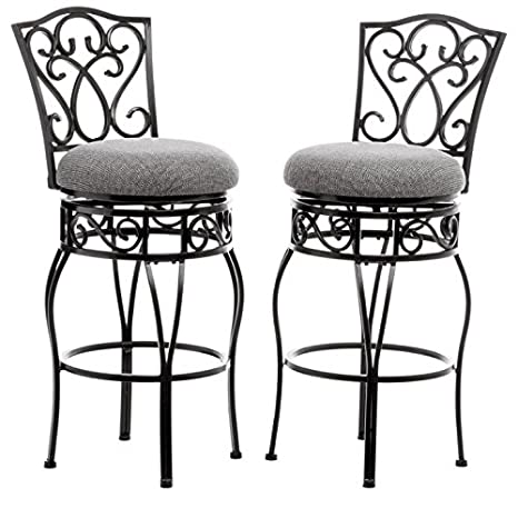 Fabulous Chase 30 Inch Swivel Counter Stools Set Of 2 30 Inch Ibusinesslaw Wood Chair Design Ideas Ibusinesslaworg