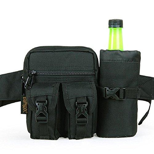 LJ&L Al aire libre alpinismo bolsos deportivos, al aire libre corriendo multifuncional impermeable de los hombres bolsillos, al aire libre bolsa de agua bolsos bolsa,D,one size D