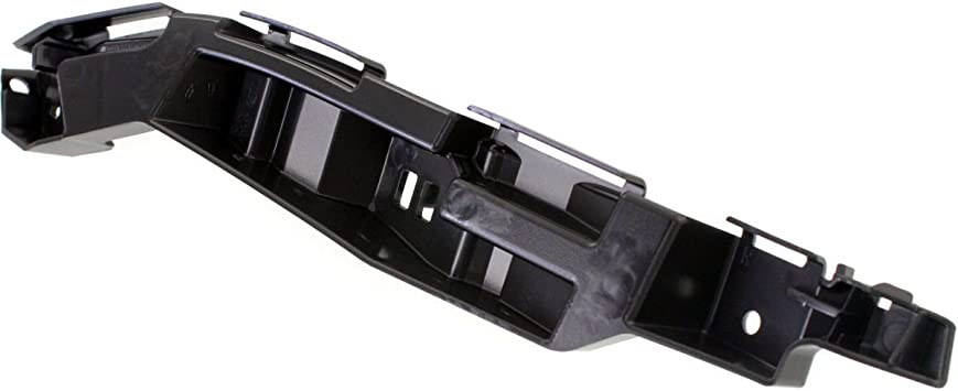 DAT AUTO PARTS Front Bumper Bracket Replacement for 10-12 Ford Fusion Black Right Passenger Side FO1027113