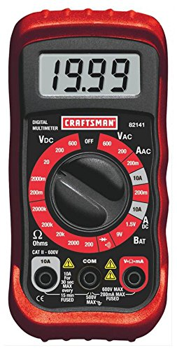 Craftsman 8 Function Multimeter 34-82141