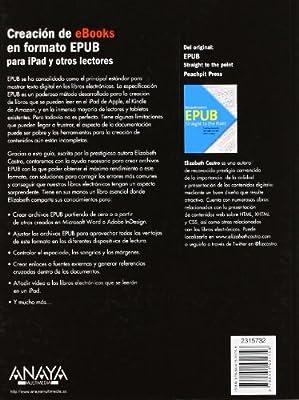 Creación de eBooks en formato EPUB Títulos Especiales: Amazon.es ...