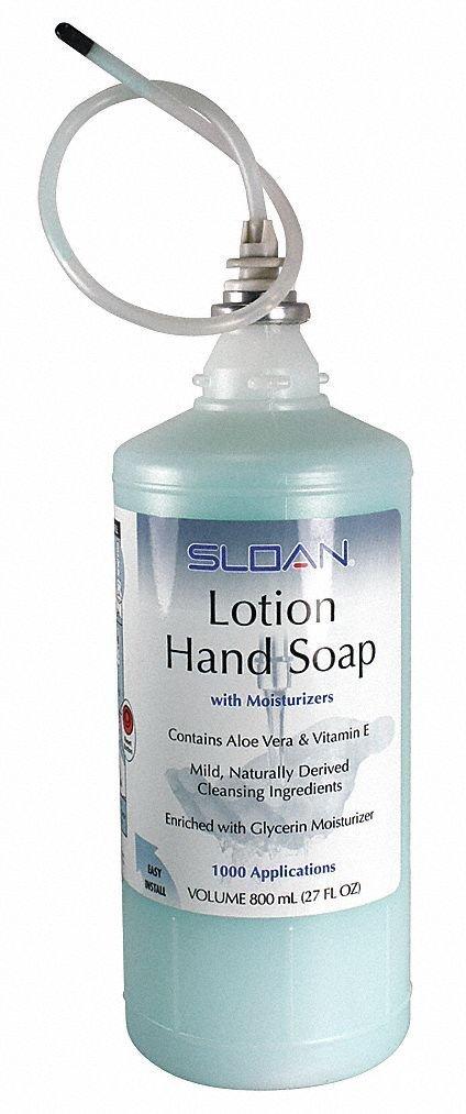 Sloan ESD-217 Lotion Hand Soap Refill 800 ml Bottle (Box of 4) B015OOT5KM