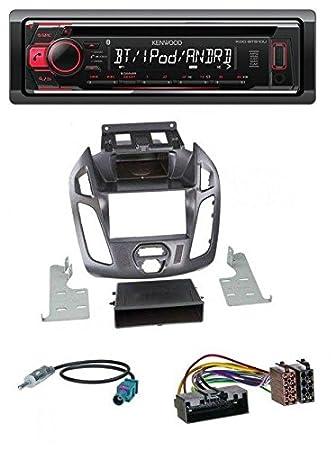 Kenwood KDC BT510U CD USB MP3 AUX Bluetooth Car Radio: Amazon co uk