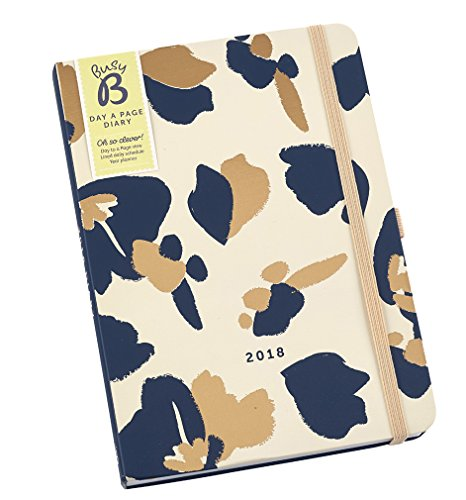 View Desk Diary (Busy B 2018 Day A Page Diary - Day-to-view agenda with year planner and notes)