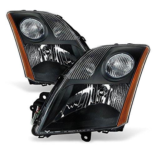 ACANII - For 2007 2008 2009 Nissan Sentra 2.0L 2.5L Headlights Headlamps Aftermarket Driver + Passenger Side