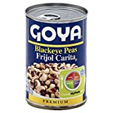 Goya Black Eye Peas 15.5 OZ(Pack of 4)