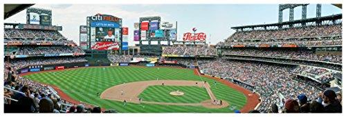 Citi Field - Baseball Field - 36x12 Matte Poster Print Wall Art