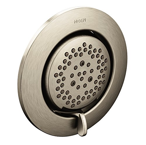 Moen TS1422BN Mosaic Two-Function 3-1/4 Inch Diameter Head Body Spray, Brushed - Function Spray Body