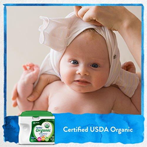 Similac Organic Infant Formula with Iron, USDA Certified Organic, Baby Formula, Powder, 1.45 lb (Pack of 6) by Similac (Image #2)