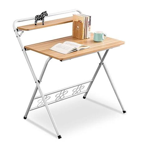 CZ-wyf Juego de sillas Plegables para Escritorio de ...