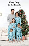 PajamaGram Matching Christmas PJs for Family, Blue