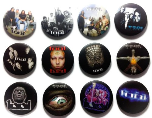 TOOL band (1) Awesome Quality Lot 12 New Pin Pinback Button Badge 1.25 Inch