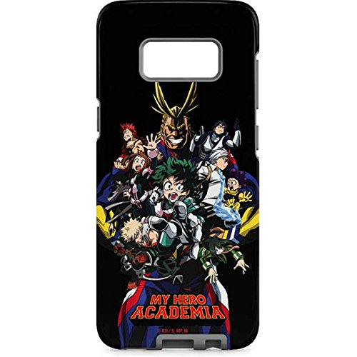 newest collection 2baec d7bf2 Skinit My Hero Academia Main Poster Galaxy S8 Plus Pro Case - Officially  Licensed Group 1200 Anime Phone Case Pro, Scratch Resistant Galaxy S8 Plus  ...