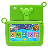 SODIAL(R) Kids Tablets Android 7 Inch 1280x800 IPS Display with Parental Control Software - for Learning Wifi Camera 3D Game HD Video Supported green