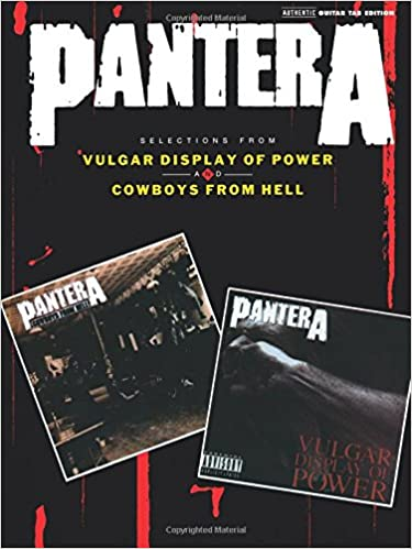 Amazon.com: Pantera Selections From Vulgar Display Of Power And ...