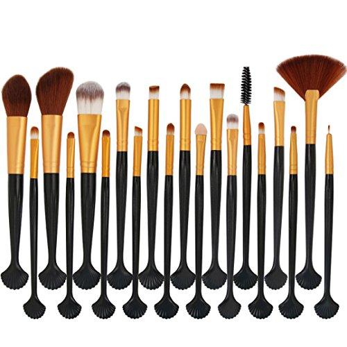 Multi Blusher - Honhui Makeup Brush Set, New Arrival Professional 20pcs Cosmetic Makeup Brush blusher Eye Shadow Brushes (F)