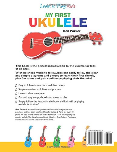 Amazon.com: My First Ukulele For Kids: Learn To PLay: Kids ...