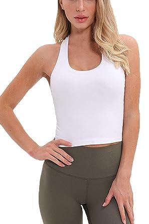 Camiseta sin Mangas con Espalda de Corredor para Mujer ...
