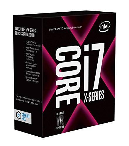 Intel Core i7-7740X X-Series Processor 4 Cores up to 4.50GHz